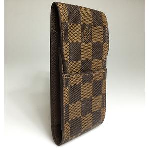 ルイ・ヴィトン(Louis Vuitton) ダミエ N63024 エテュイ・シガレット タバコケース エベヌ