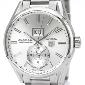 Tag Heuer Carrera Automatic Stainless Steel Men's Sports Watch WAR5011