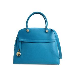 FURLA Piper M Hand bag Leather TURCHESE 820860