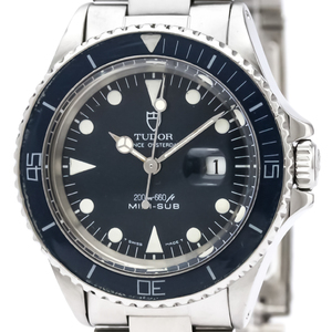 TUDOR ROLEX MINI-SUB Steel Automatic Watch 73090