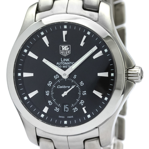 TAG HEUER Link Chronograph Steel Automatic Mens Watch WJF211A
