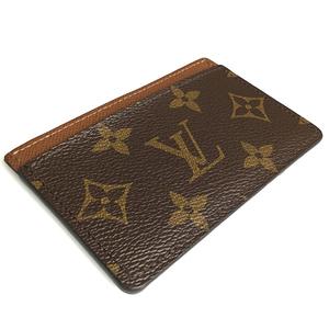 Louis Vuitton Monogram M61733 Card Case Simple card case