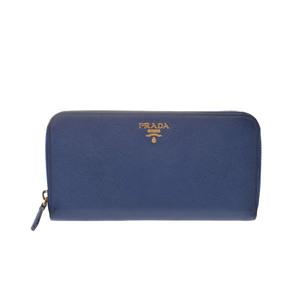 プラダ(Prada) Saffiano  財布 ブルー