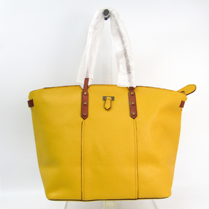 Furla Women's Leather Tote Bag Brown,Yellow