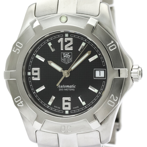 TAG HEUER 2000 Exclusive Steel Automatic Mens Watch WN2110