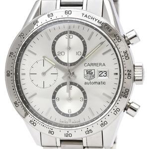 TAG HEUER Carrera Calibre 16 Chronograph Steel Watch CV2017