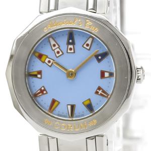 Corum Admiral's Cup Quartz Stainless Steel Women's Dress Watch 24.810.20