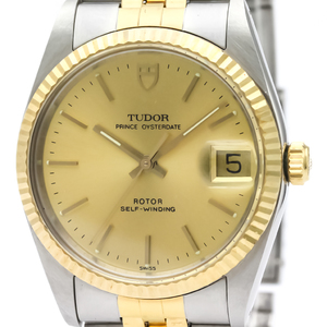 Tudor Prince Oyster Date Automatic Men's Dress Watch 74033