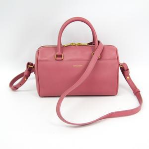 Saint Laurent Baby Duffle 330958 Women's Leather Handbag Pink