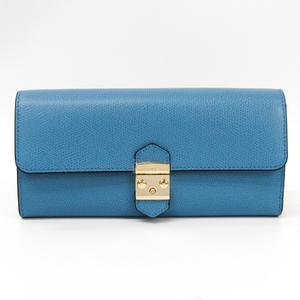 Furla METROPOLIS 963443 Women's Leather Long Wallet (bi-fold) Blue