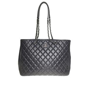 シャネル(Chanel) マトラッセ A91046 チェーントートバッグ レディース ネイビー