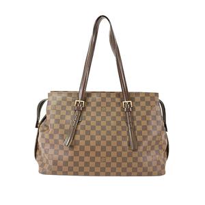 3d92059fda4e Auth Louis Vuitton Shoulder Bag Damier Chelsea N51119