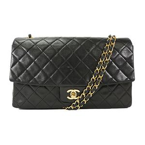 Auth Chanel Shoulder Bag Matelasse Chain Shoulder Black