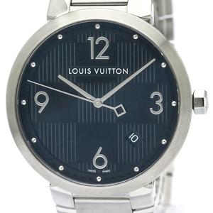 ルイ・ヴィトン(Louis Vuitton) タンブール クォーツ ステンレススチール(SS) メンズ ドレスウォッチ Q1D00