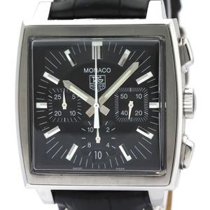 TAG HEUER Monaco Chronograph Steel Automatic Watch CW2111