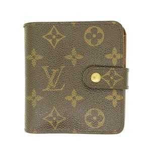 ルイヴィトン 財布(二つ折り) モノグラム コンパクト・ジップ M61667