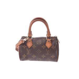 Louis Vuitton Monogram Mini Speedy M41534 Handbag Monogram
