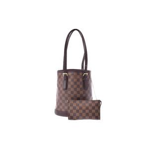 Louis Vuitton Damier Marais N42240 Shoulder Bag Ebene