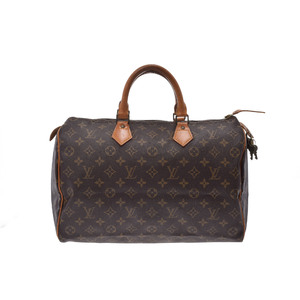 Used Louis Vuitton Monogram Speedy 35 M41524 Ladies ◇
