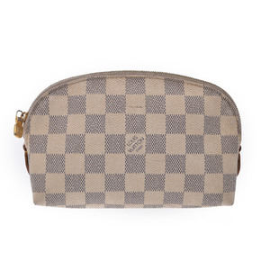Louis Vuitton Damier Cosmetic Pouch N60024 Women's Pouch Azur
