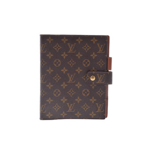 Louis Vuitton Monogram Planner Cover Monogram Agenda GM R20006
