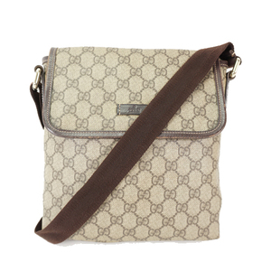 Auth Gucci Shoulder Bag GG Canvas GG Supreme 223666 Women's