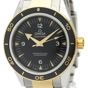 Omega Seamaster Automatic Stainless Steel,Yellow Gold (18K) Men's Sports Watch 233.20.41.21.01.001
