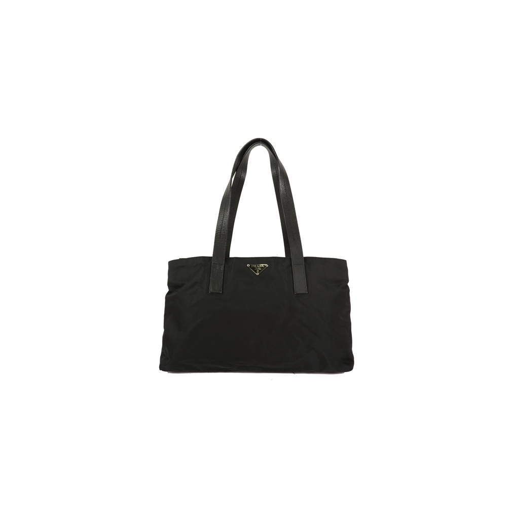 Auth Prada Tote Bag  Nylon Black Women's