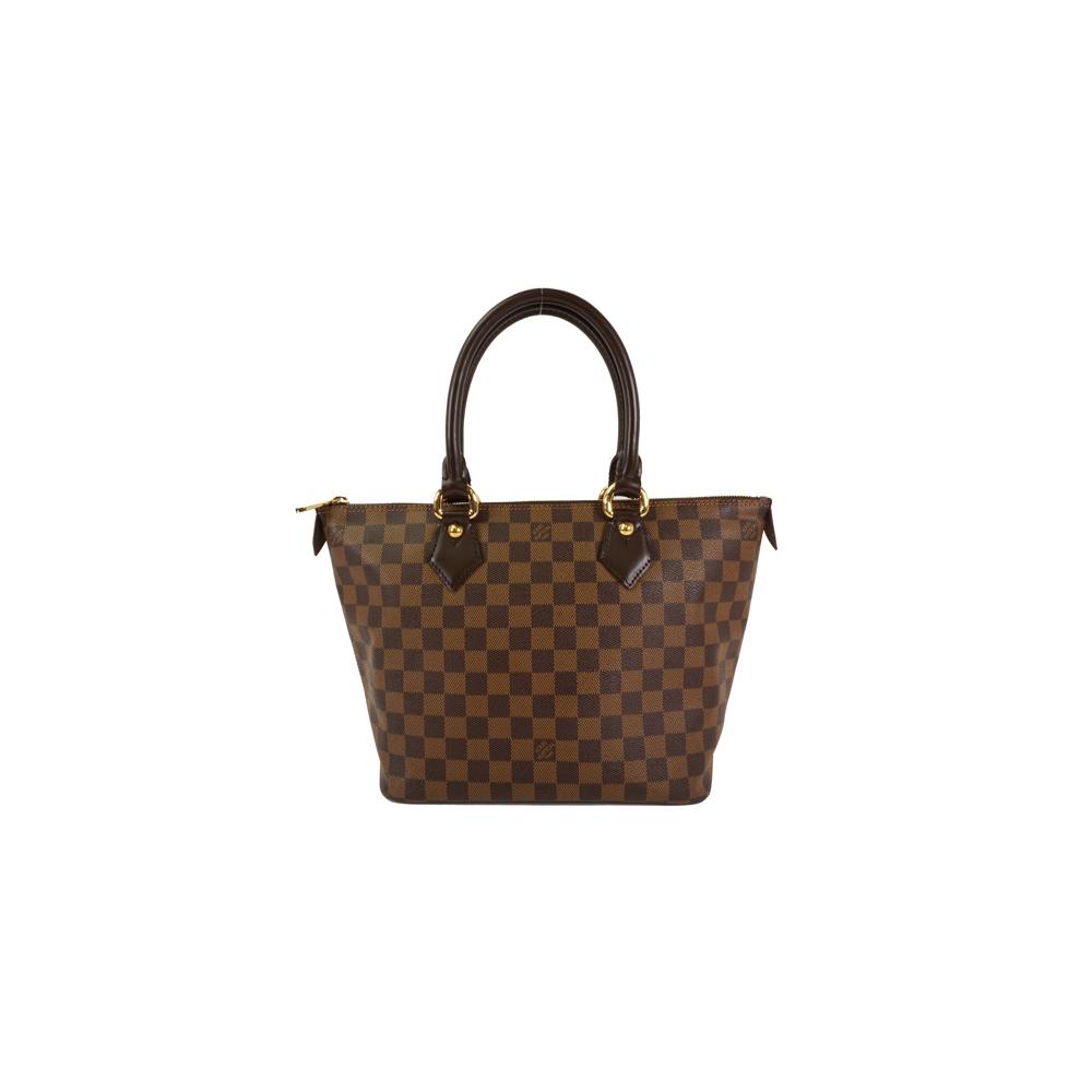 c3710f5da0c9 Auth Louis Vuitton Shoulder Bag Damier Ebene Saleya PM N51183 Brown Women s