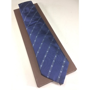 Louis Vuitton Boys,Men Cravat Silk Blue M73007