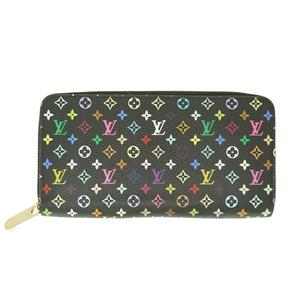 787bcc01e786 Auth Louis Vuitton Long Wallet Monogram Multicolore zippy wallet M60243