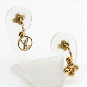 Louis Vuitton Metal Earrings Gold Blooming Earrings M64859