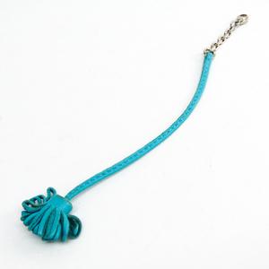 Hermes Bookmark Carmencita 17 Blue Leather