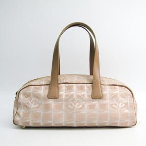Chanel New Travel Line Mini Boston Bag A15828 Women's New Travel Line Handbag Beige