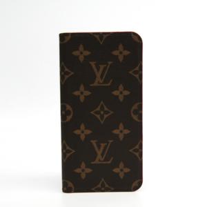 ルイ・ヴィトン(Louis Vuitton) モノグラム モノグラム 手帳型/カード入れ付きケース iPhone 8 Plus 対応 ローズ IPHONE7+ IPHONE8+・フォリオ M63401