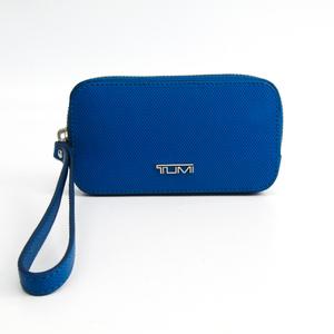 トゥミ(Tumi) レザー ポーチ/スリーブ iPhone 5 対応 ブルー