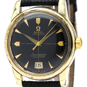 Omega Seamaster Automatic Gold Plated Men's Dress Watch 2757