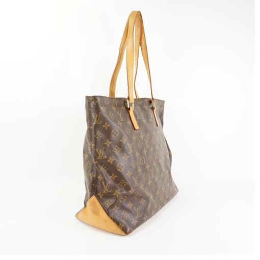 1f97b72c3943 Auth Louis Vuitton Tote Bag Monogram Cabas Mezzo M51151