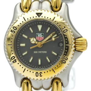 Tag Heuer Sel Quartz Gold Plated,Stainless Steel Women's Dress Watch S95.208
