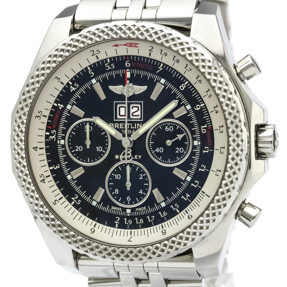 Breitling Stainless Steel Bentley Automatic Wristwatch Ref: Breitling Bentley Automatic Stainless Steel Men's Sports