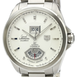 TAG HEUER Grand Carrera GMT Steel Automatic Mens Watch WAV5112