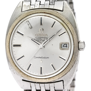 Omega Constellation Automatic Stainless Steel Men's Dress Watch 168.027