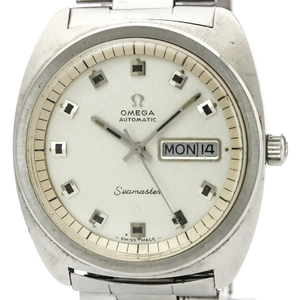 Omega Seamaster Automatic Stainless Steel Men's Dress Watch 166.064