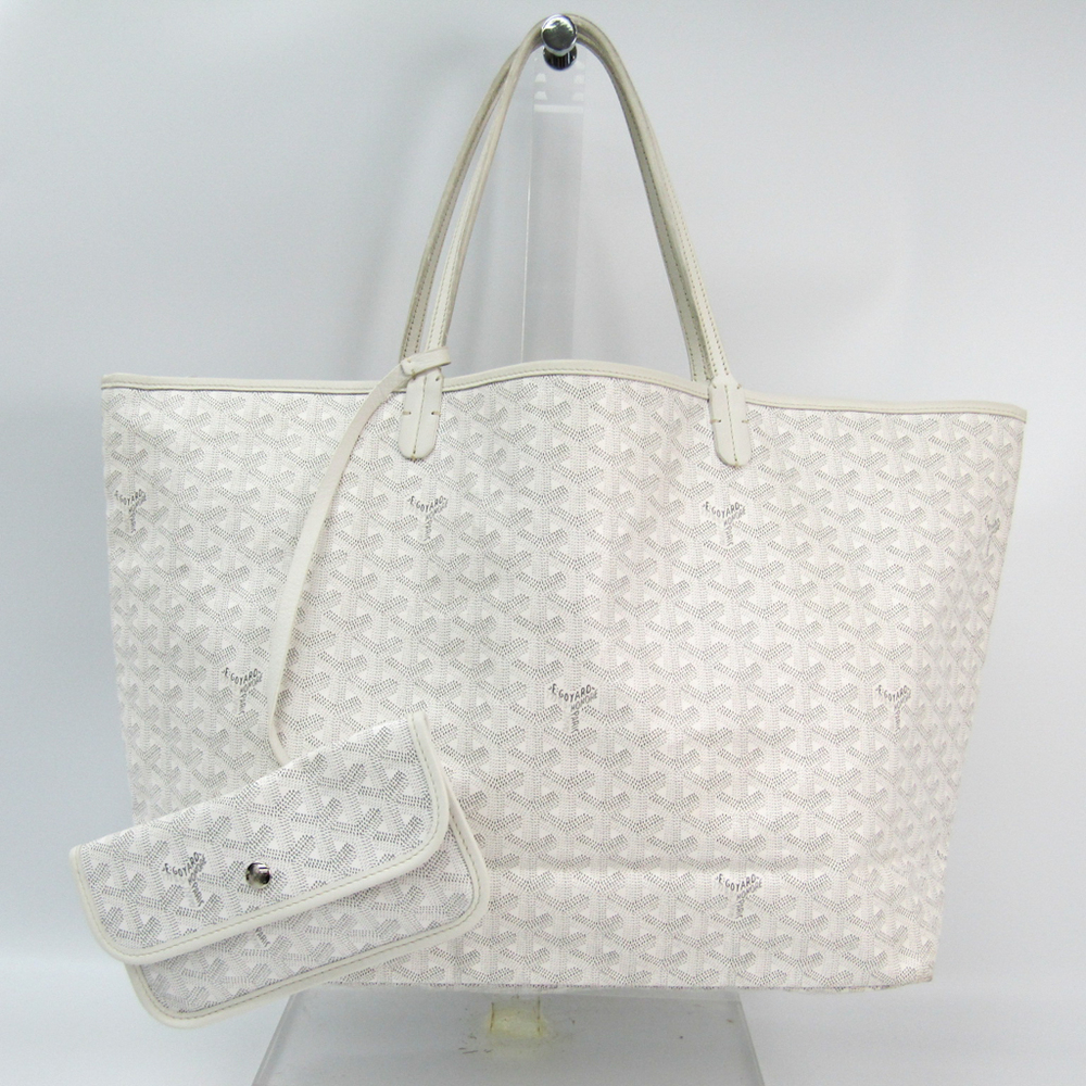 Goyard Saint Louis Saint Louis GM Women's Tote Bag White