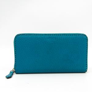 フェンディ(Fendi) セレリア 8M0299 レザー 長財布(二つ折り) ブルー