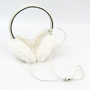 Gucci 245929 Women's Ear Warmers White