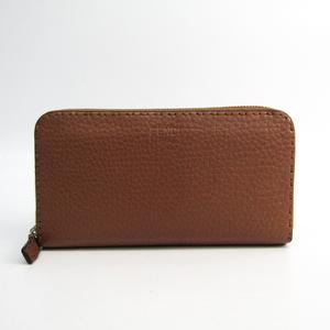 フェンディ(Fendi) セレリア 8M0299 レディース レザー 長財布(二つ折り) ブラウン