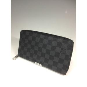 d94da30feca Louis Vuitton Damier Graphite N 63077 Zippy Organizer Boys,Men Damier  Graphite Long Bill Wallet