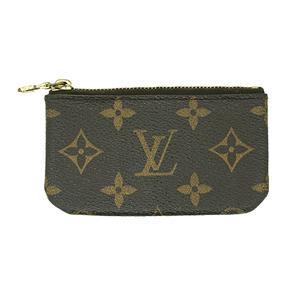 caea059134b8 Auth Louis Vuitton coin Case Monogram Pochette Cles M62650