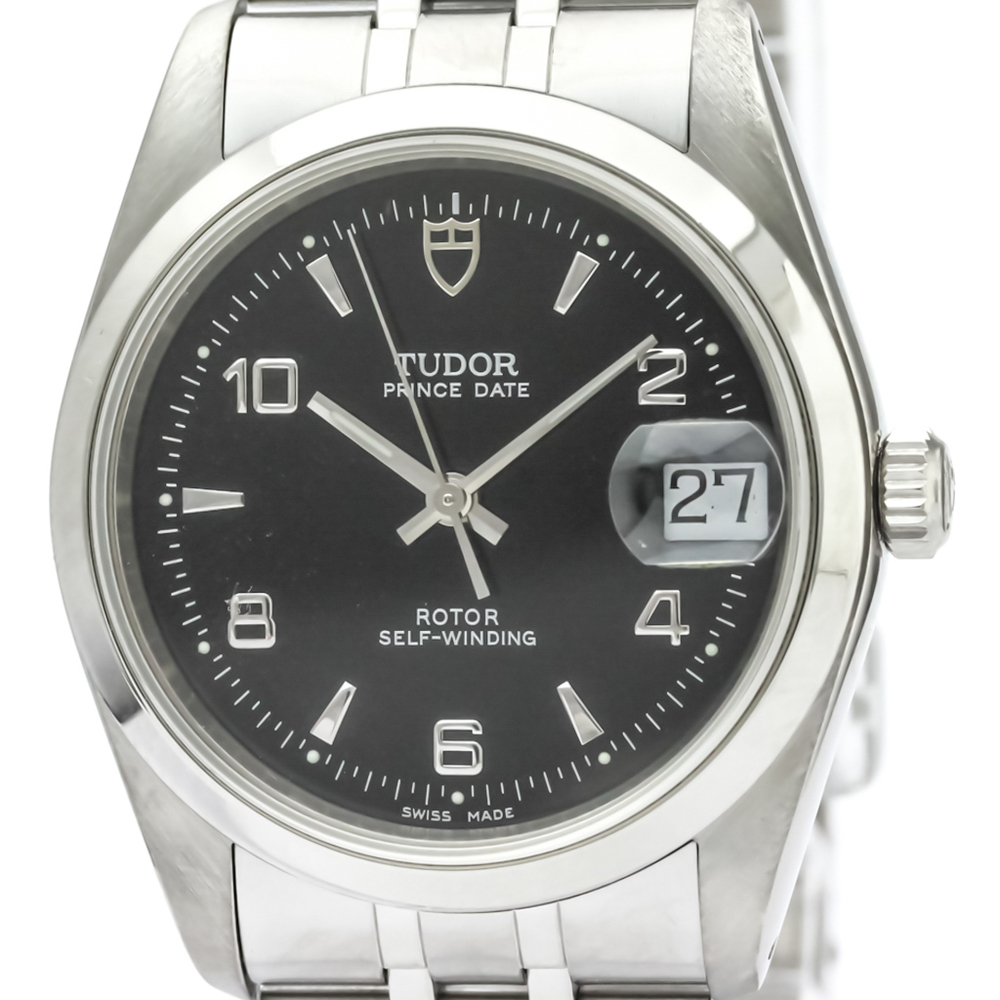 Tudor Prince Oyster Date Automatic Stainless Steel Men's Dress Watch 74000